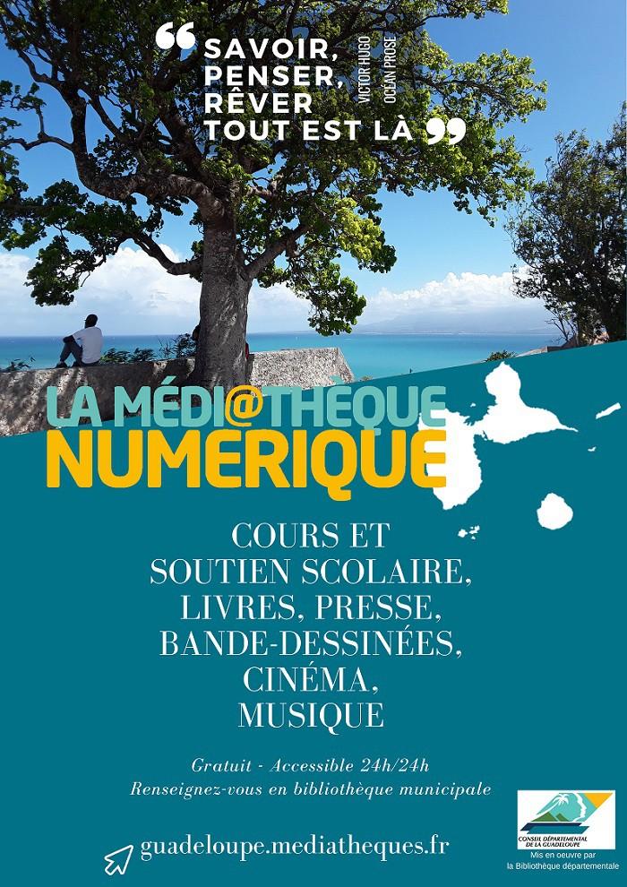 La médiathèque numérique de Guadeloupe